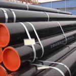 GR B, X42, X46, X56, X60, X65, X70 ERW HFI EFW stålrør