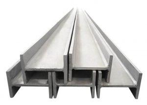 201 304 316 rustfritt stål H bjelke