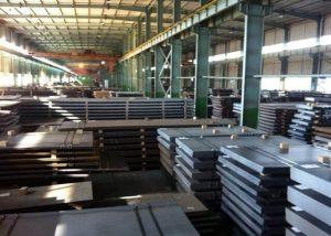 S355JR Lavlegert stålplate EN10025
