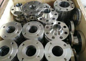 Aluminiumsflens av legering