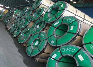 1.4401 Rustfrie stålspoler og striper