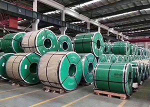 Rustfritt stålspole med ASTM JIS DIN GB
