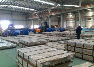 X10CrAlSi13 / 1.4724 stålplate / plate
